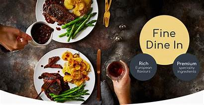 Dine Fine Gousto Header Introducing Recipes Launch