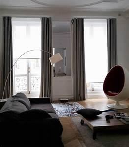 Rideau Salon Gris : etofea des rideaux sur mesure haut de gamme pour un ~ Teatrodelosmanantiales.com Idées de Décoration