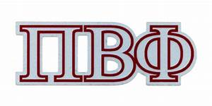 pi symbols clipart best With pi beta phi letters
