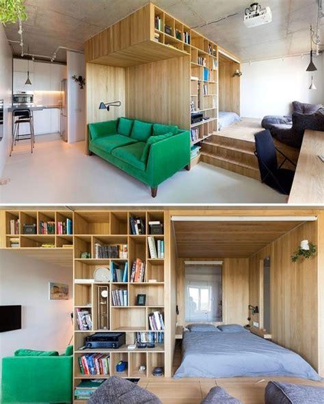 Einzimmerwohnung Einrichten  50 Ideen Zur Modernisierung