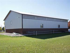 pole barn prices hansen buildings With 40x100 pole barn