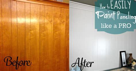 diy home repair hack easily paint  wood paneling