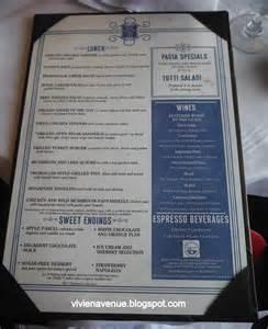 Freedom of Seas Dining Menus