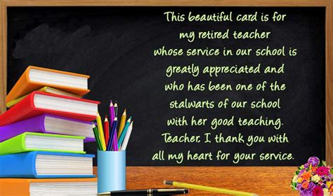 retirement wishes  teachers farewell messages