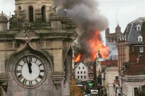 siege casino exeter hundreds of firefighters battle to save