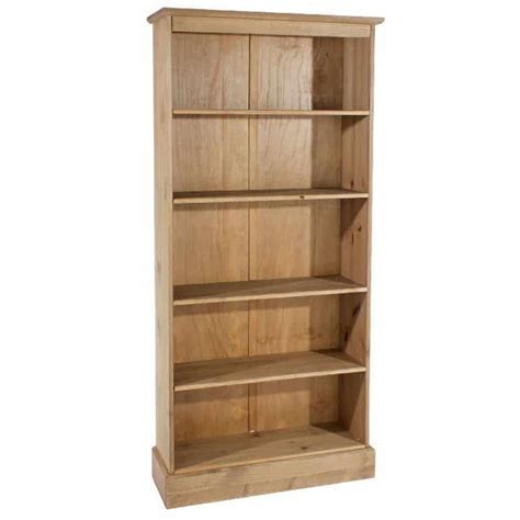 Cotswold Tall Bookcase. Solid Pine   Cheap Furniture