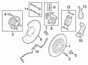 Ford Taurus Disc Brake Pad Set  Rear