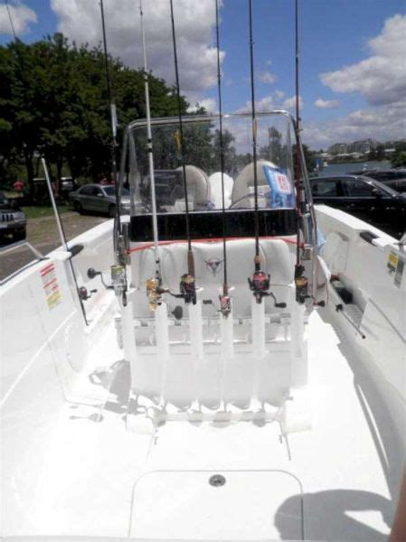 Vertical Boat Rod Holders by Our 6 Rod Holder Vertical Mount Mounted In A Customers