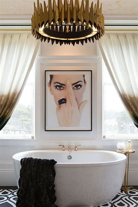 glam bathroom ideas brilliant décorating ideas to a bland bathroom come