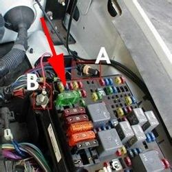 location  brake controller fuse    chevy