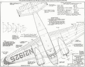 Beechcraft Model 18 Blueprint
