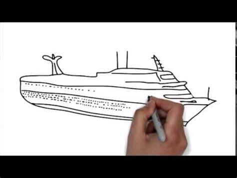 comment dessiner bateau moin d une minute