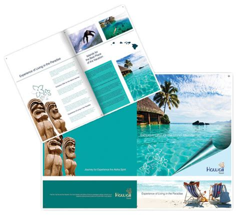 Travel Brochures Templates by 20 Cool Vacation Brochures Templates