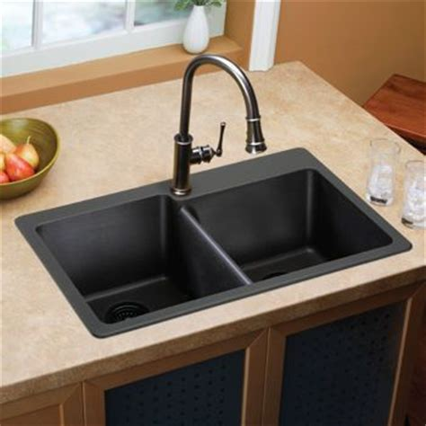 Costco: Elkay e granite Double Bowl Sink   Kitchen remodel