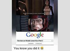 25+ Best Memes About Mass Effect Mass Effect Memes