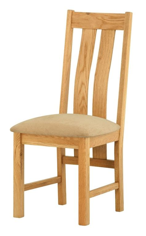 dining chairs oak portland oak dining chair upholstered seat 3327