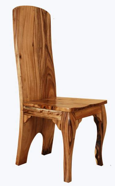 Solid Wood Chairs, Natural Wood Chairs, Elegant Rustic