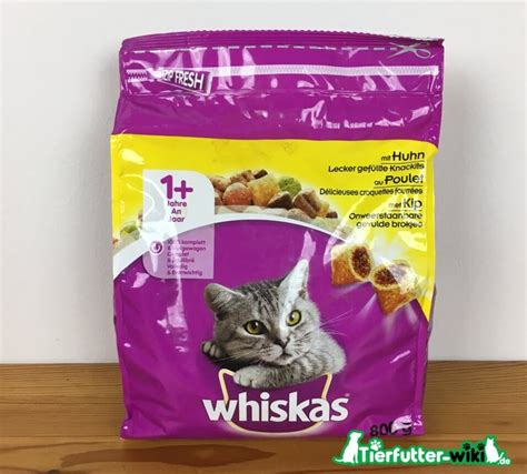 whiskas adult katzen trockenfutter im test