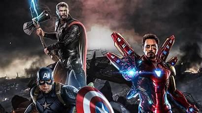 Endgame Avengers Captain Thor 4k America Iron