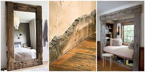 reclaimed wood trim  molding reclaimed wood design