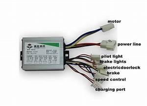 Motor Controller 36v For My1020z 600w