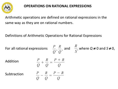 Mit Math Syllabus 103 Lesson 3 Rational Expressions
