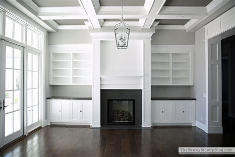 built ins around fireplace our formal living room blank slate the side up