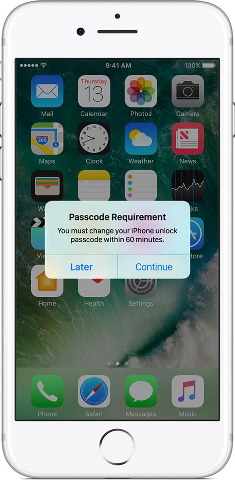 passcode requirement iphone use a passcode with your iphone ipad or ipod touch Passc