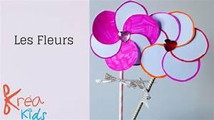 Activité Manuelle 3 Ans : de jolie fleur offrir ou pour le printemps kreakids ~ Melissatoandfro.com Idées de Décoration