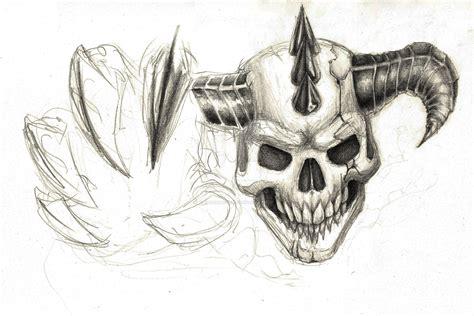 demonic skull  jokerbrother  deviantart