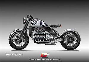 Racing Caf U00e8  Bmw K 1200 Rs By Galaxy Custom