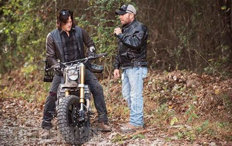 Specs On Daryl's Customized 'the Walking Dead' Motorcycle