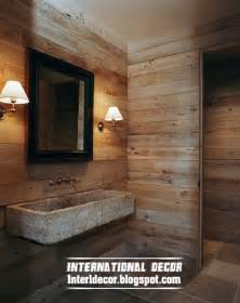 wall ideas for bathroom best 15 wooden bathroom decorating ideas and designs photos international decoration