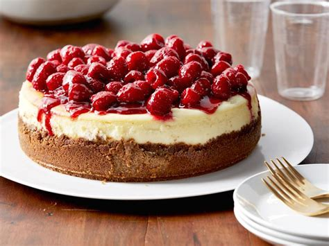 Right on time for mother's day! Raspberry Cheesecake Recipe | Ina Garten | Food Network
