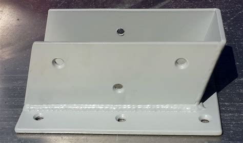 Decorative Angled Joist Hangers by Custom Decorative Metal Brackets