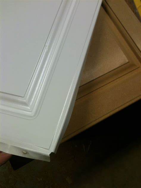 thermofoil cabinet doors painting refinishing failed thermofoil doors
