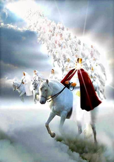 return horse king faithful he called revelation heaven true behold opened saw him musings mountain war sat