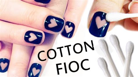 Nail Art Tutorial : Nail Art Tutorial Facilissima Con Cotton Fioc!