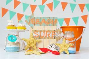 2 Beachy Craft Ideas for a Kids Beach-themed Craft Party