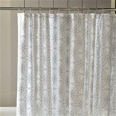 west elm shower curtain gerbera shower curtain west elm style shower