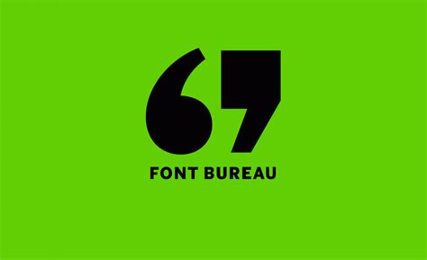 font bureau thinking green for earth day font bureau
