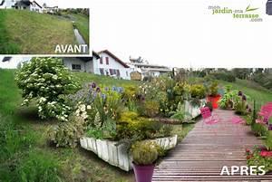 jardin en pente amenagement aw59 jornalagora With amenagement jardin en pente forte 9 les 25 meilleures idees de la categorie terrain en pente