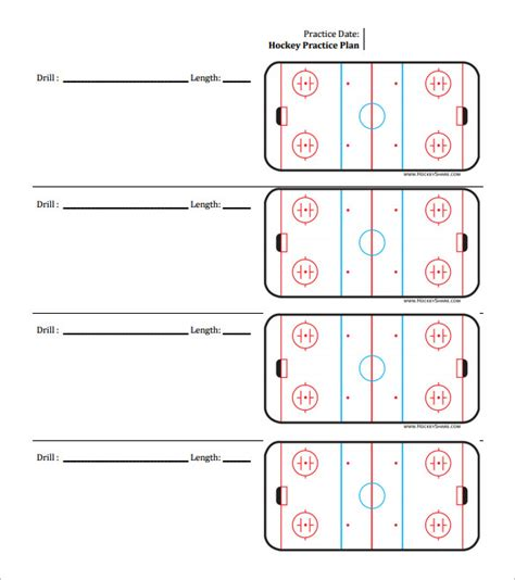 hockey practice plan template 13 practice schedule templates word excel pdf free premium templates