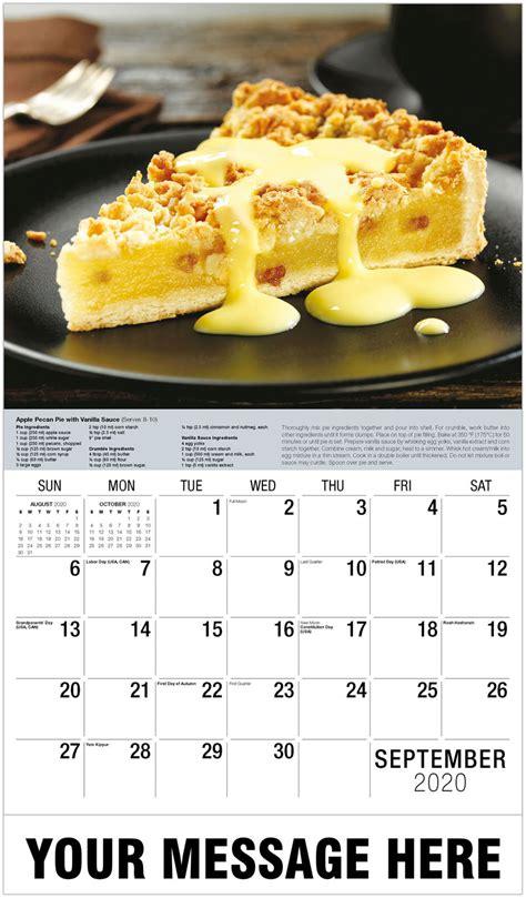recipes promotional calendar wall calendars business advertising