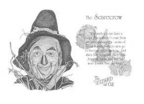 Wizard of Oz Scarecrow Drawings