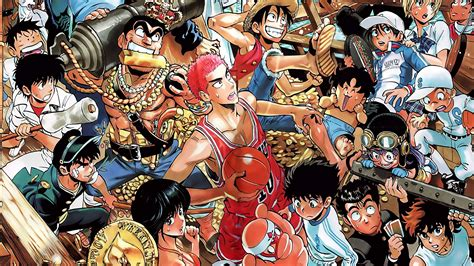 Anime Crossover Wallpaper - crossover shonen jump hd wallpaper background 1951