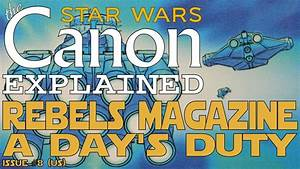 "Star Wars Rebels Magazine: ""A Day's Duty"" (Comic) - YouTube"