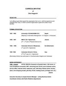 best objective in resume exles of resumes resume simple objective inside 87