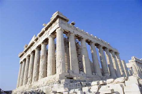 Greek Art  Ionic Order And Doric Order