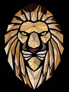 Abstract Lion Vector Art Vectorart  Course Learn How To